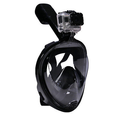 New Swimming Goggles Snorkeling Full Face Diving Mask Water Sports For GoPro L/X