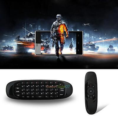 C120 2.4GHz Mini Wireless Fly Air Mouse Gyro Sensing Keyboard for Android TV Box