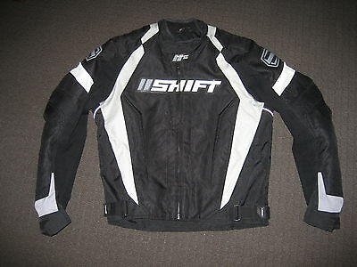 Shift Motorcycle Jacket, Textile, Armour, Removeable Liner, Medium Size,