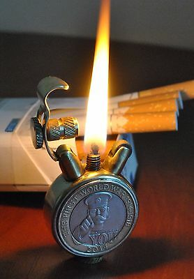 "LIGHTER ""The 100th Anniversary of the WWI"" / Brass Trench Art / Lord Kitchener"