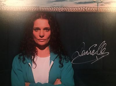 (Wentworth) Danielle Cormack Original Hand signed photo 12x8 With COA