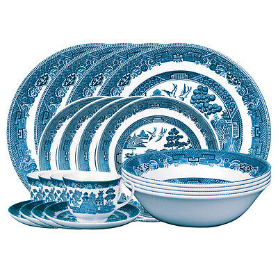 Johnson Brothers Blue Willow 20Pc Dinner Set $349