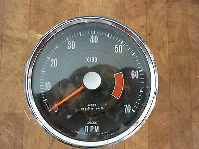 Jaeger Rev Counter Gauge. 0-7000. Used And Untested.
