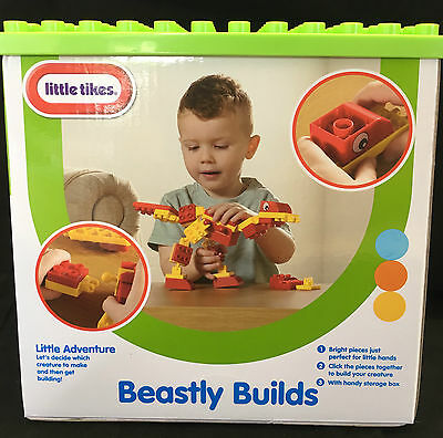 Little Tikes Beastly Builds Building Blocks - NEW