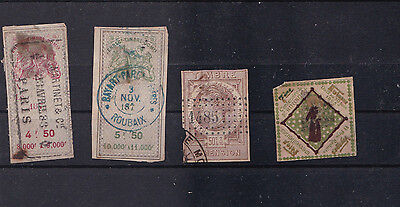 Very Old French Revenue Stamps Ref 1699