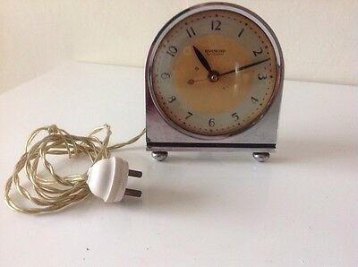 Hammond Synchronous Art Deco Mantle Electric Clock