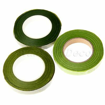 DIY Florist Green Stem Tape Floristry Handmade Wire Floral Corsages Buttonholes