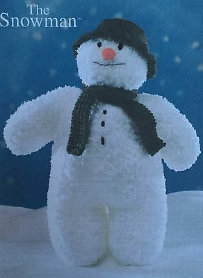 Knitting Pattern for The Snowman - Charming Festive Christmas Winter Toy