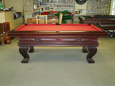 7ft Slate Bed English Pool Table