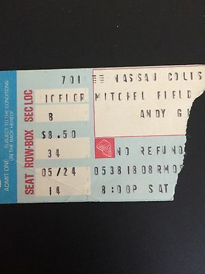 ANDY GIBB CONCERT STUB From New York 5/24/80