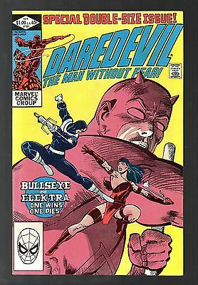Daredevil Vol 1 No 181 Apr 1982 (VFN+ to NM-) Double Size, Death of Elektra