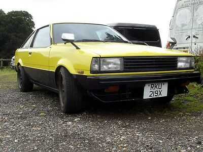 Toyota Corolla TE71 1981 Levin Coupe 2T-GEU twin cam, RWD JDM import, pre AE86