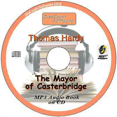 The Mayor of Casterbridge  - Thomas Hardy MP3 Audio Book CD in 35 chapters/files