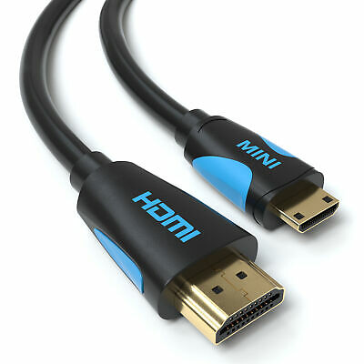 3m mini HDMI High Speed Kabel Adapter von JAMEGA | für Tablet Kamera Notebook