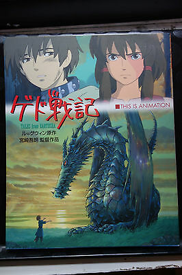Tales From Earthsea Japanese Anime Official Art Book 2006 Studio Ghibli
