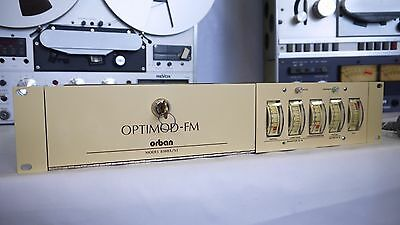 ORBAN OPTIMOD-FM model 8100A/ST NEW / Missing control card