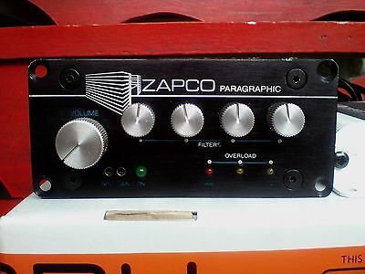 RARE Heritage ZAPCO PX Paragraphic Equalizer Electronic Crossover Old School