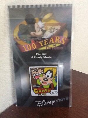 Disney Store 100 Years Of Dreams A Goofy Movie Pin #62