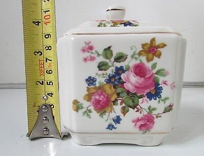 SADLER Porcelain TEA CADDY Great Condition