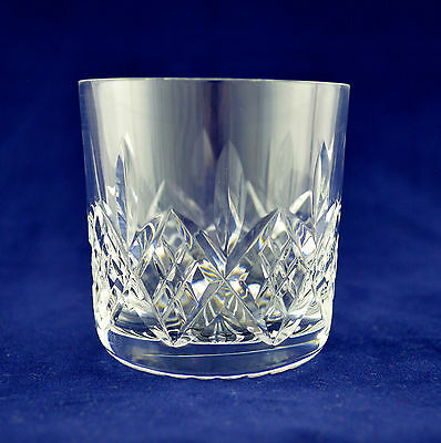 "Stuart Crystal ""GLENGARRY"" Whiskey Glass - 7.3cms (2-7/8"") Tall"