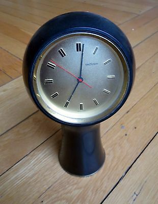 Secticon clock Midcentury design by Angelo Mangiarotti 1960s spares or repair