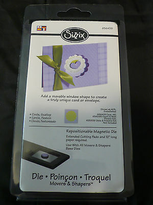 Sizzix Movers and Shapers Scallop Circle Die NIP