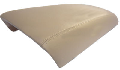 Synthetic Leather Beige Center Console Lid Armrest Cover Fits 11-14 Ford Edge