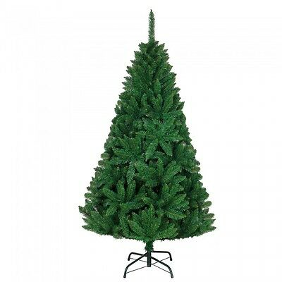 Imperial Pine Green Artificial Christmas Tree Metal Stand 4FT 5FT 6FT