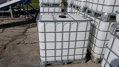 275 Gallon Used Potable Plastic Water Storage Tanks - Great Condition!