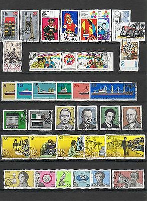 STAMPS  GERMANY - DDR SELECTION  of 35     (FU - CTO)    lot 1243