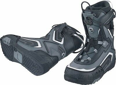 Ski Doo Helium Snowmobile Boots Black/Grey Size 8 4441342809