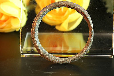 RARE!! ANCIENT ROMAN BRONZE SOLID THUMB RING. Size: US 16