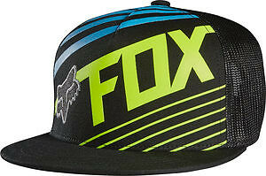 18113-002 Fox Solvent Blue Hat Kids size Snap Back One Size Hat