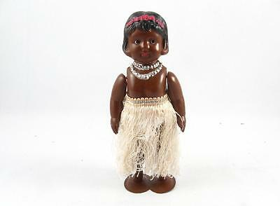 Vintage Occupied Japan Celluloid Hawaiian Hula Dancer Wind Up Toy