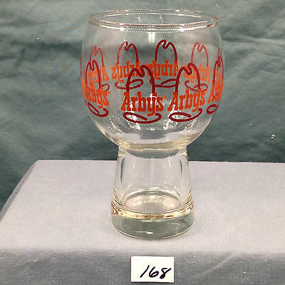 Vintage Arby's Retro Style Beer Glass