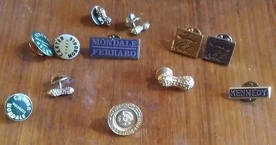 President Jimmy Carter and John F. Kennedy Pins
