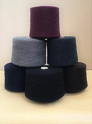 100% Pure Merino LAMBSWOOL Knitting Machine Yarn for CLEARANCE