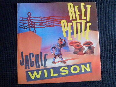 Jackie Wilson-Reet Petite-You Brought About A Change-I'm The One To-1985 Mint-