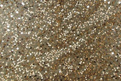 """Copper Sequin Table Runner - 13"""" x 60"""" - Wedding / Party Decoration"""