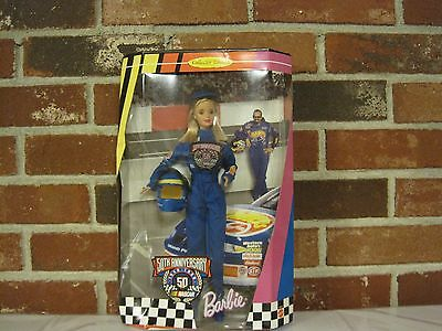 1998 Nascar 50Th Anniversary Barbie--Collector Edition