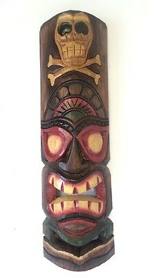 Holiday Sale!!! Wooden Tiki Mask (23 inches)