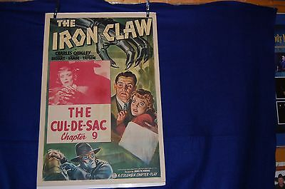 THE IRON CLAW MOvie POSTER Orignal