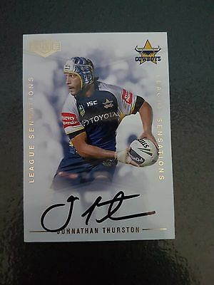 2013 Nrl Elite  League Sensations  Johnathan Thurston Card 130/130