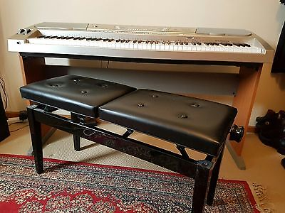 Casio Keyboard WK-8000 and 2 seater adjustable bench