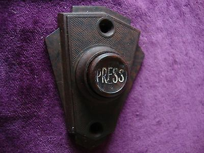Antique Bakelite bell press. undamaged fully tested and working well