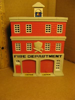 Galoob Micro Machines FIRE STATION Light Up ONLY Playset Building FireHouse 1989
