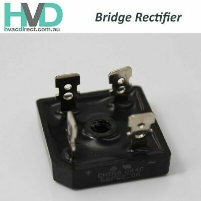 Box of 10 x Bridge Rectifiers - Model-044C - P/N-GBPC2506
