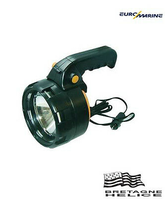Projecteur A Main 12V 55W Halogene Euromarine 001585