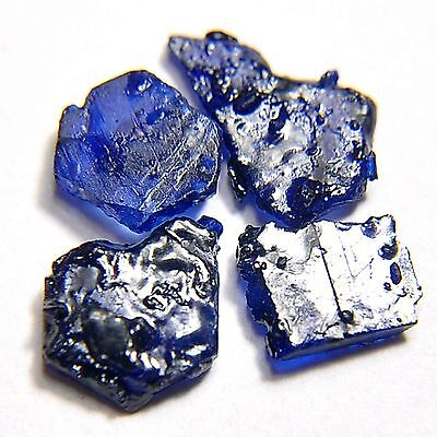 8.00 Cts Natural Rich Blue Sapphire Heating Rough or khad Lot Specimen Madagasca