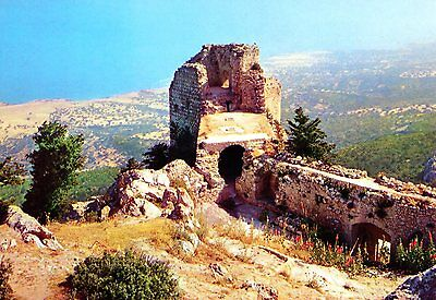 Cyprus Kantara Castle Postcard as picture * Combined Shipping available * CKDS3